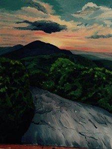 Roan Mtn Painting T Logan