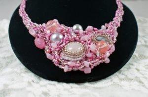 Handmade gemstone necklace