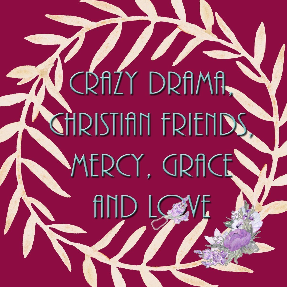 Crazy Drama Graphic
